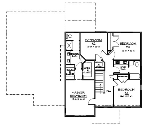 Schmidt bros custom homes floor plans House plans 2500 sq ft one story