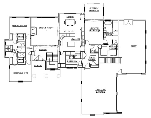 Schmidt Bros Custom Homes » Floor Plans on ranch home plans with large kitchen, ranch home plans with walkout basement, ranch home plans with carport, ranch home plans with wrap around porch, ranch home plans with pool, ranch home plans with open floor plan, ranch home plans with office, ranch style home plans with basement, room addition above two car garage, ranch home addition plans, ranch home plans with multiple gables, ranch home plans with loft, ranch home plans with study, ranch home plans with cathedral ceilings,