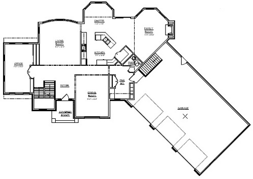 Home Floor Plans With 4 Car Garage