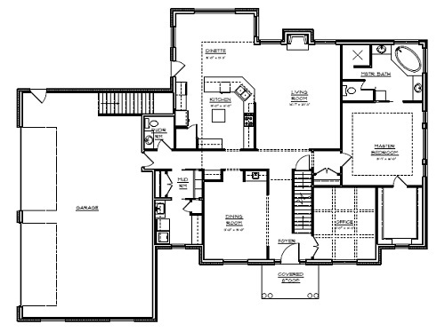 floor plans 1 1 2 story home designs